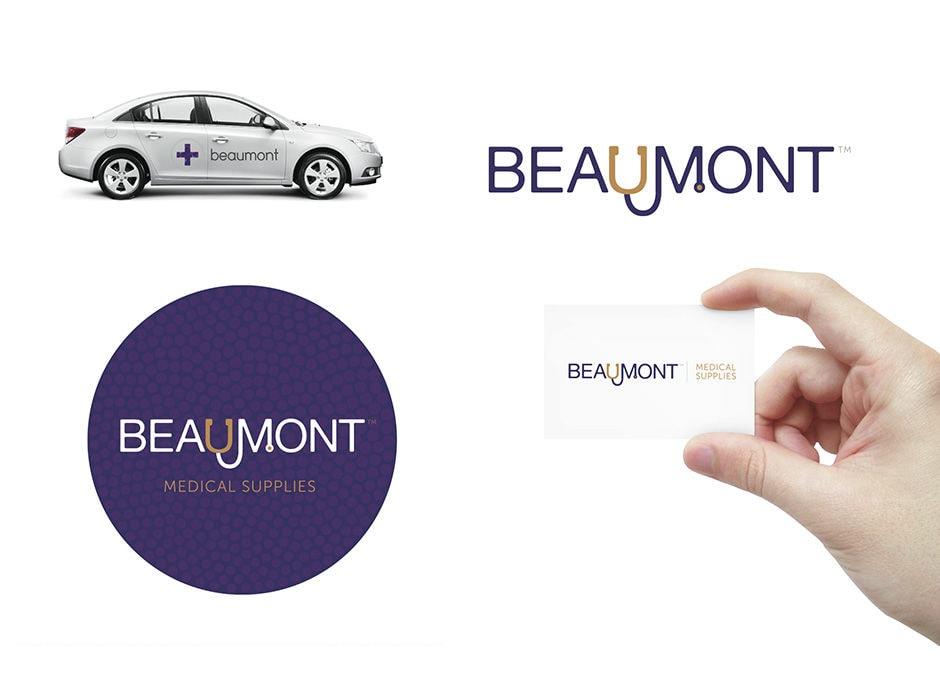 Beaumont Medical Supplies Business Logo Design | Northern Beaches