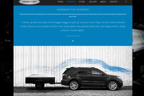 Hard Top Website Features