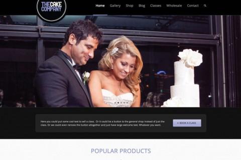 The Cake Company Website