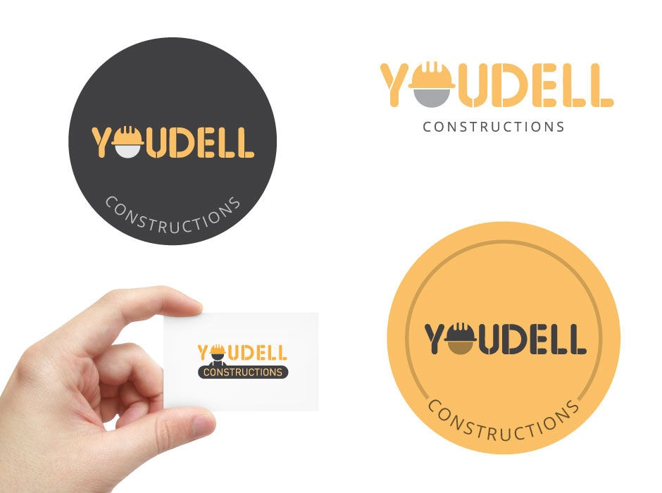 fun logo design for youdell constructions