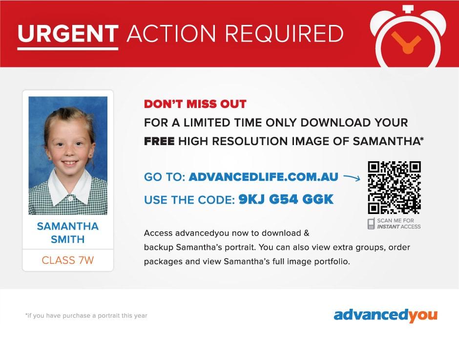 AdvancedYou Urgent Action Card