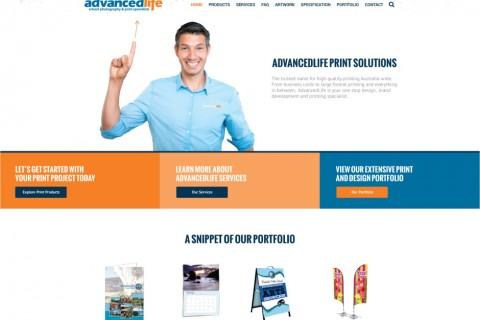 AdvancedLife Print Wesite Header