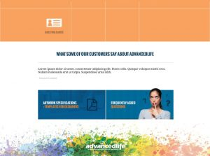 AdvancedLife Print Website Footer