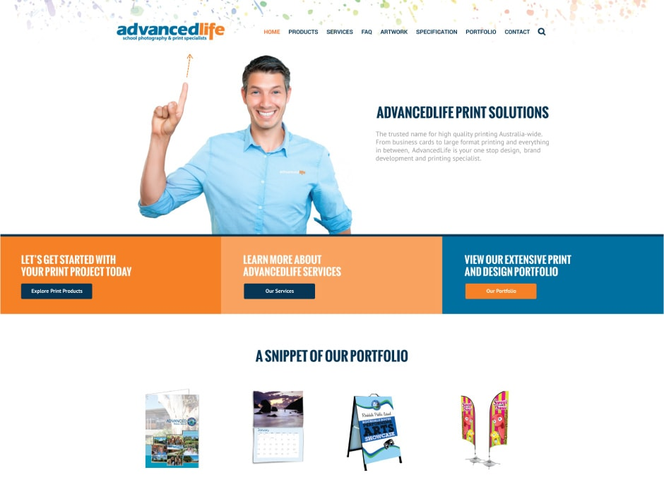 AdvancedLife Print Website