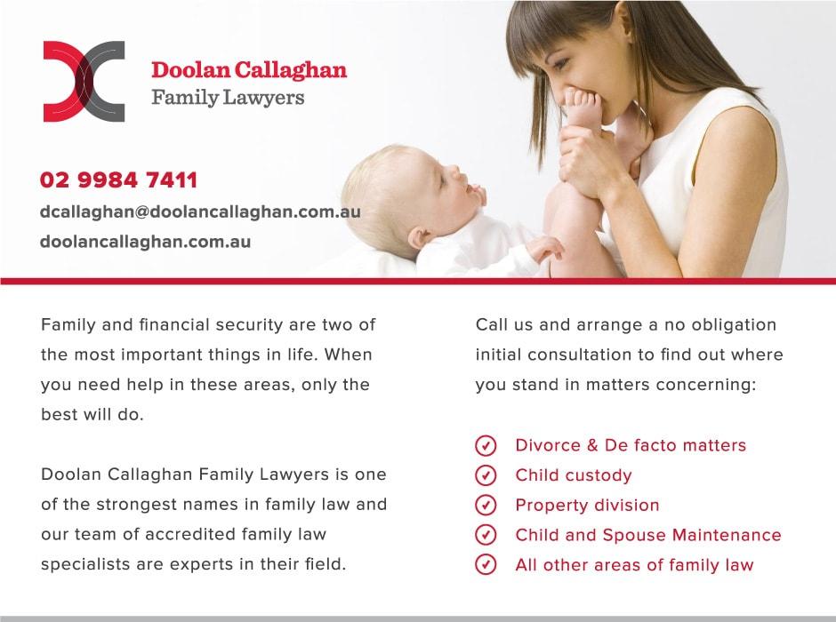 Doolan Callaghan Magazine Ad