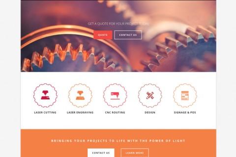 Engratek Website Redevelopment
