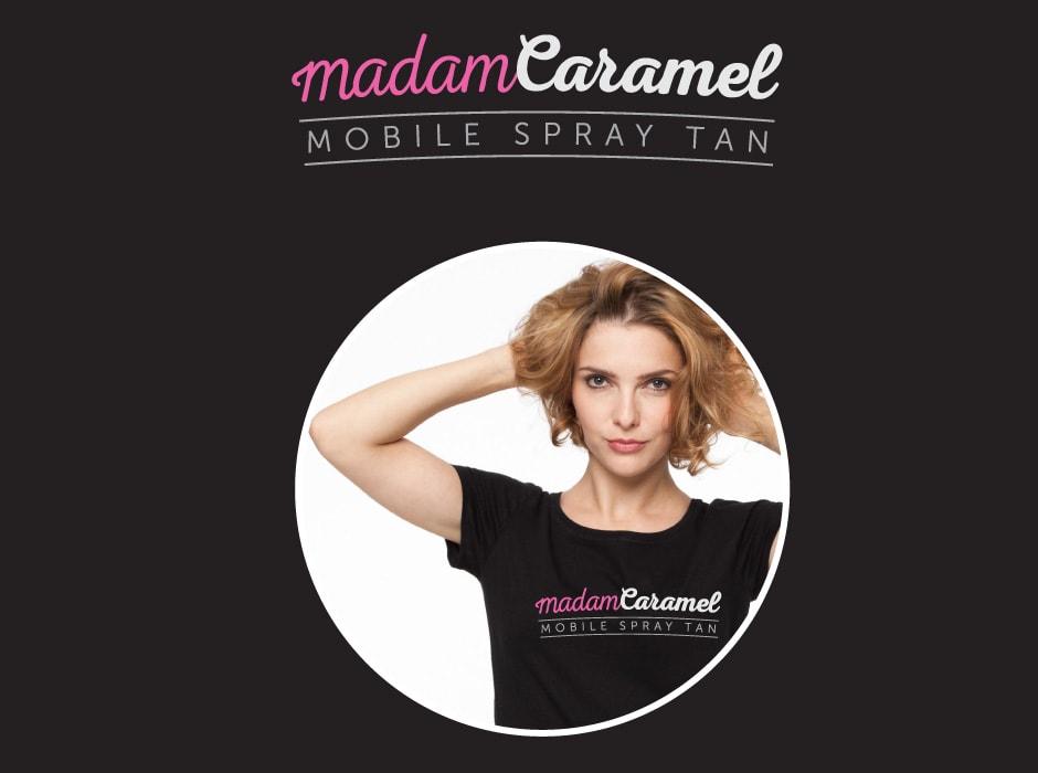 Madam Caramel Logo Design