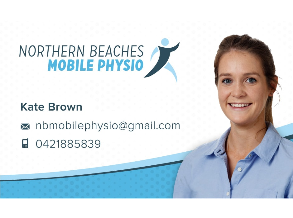 Northern Beaches Mobile Physio Business Card