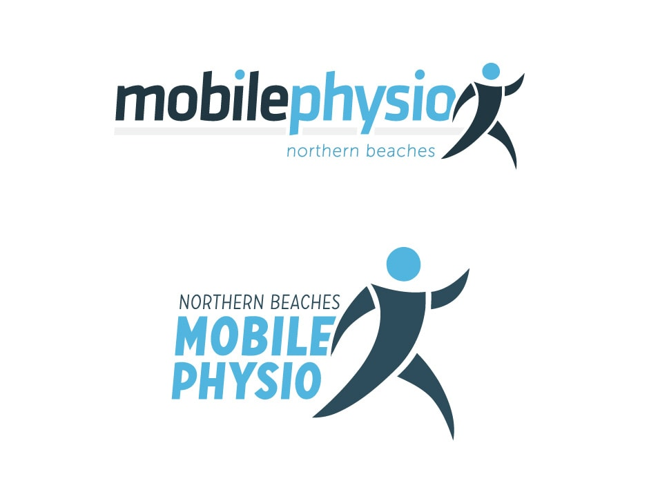Northern Beaches Mobile Physio logo Design