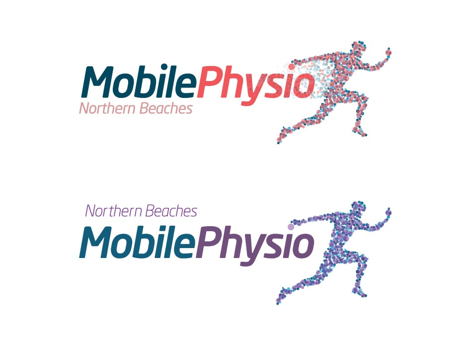 Northern Beaches Mobile Physio Logo Design 2