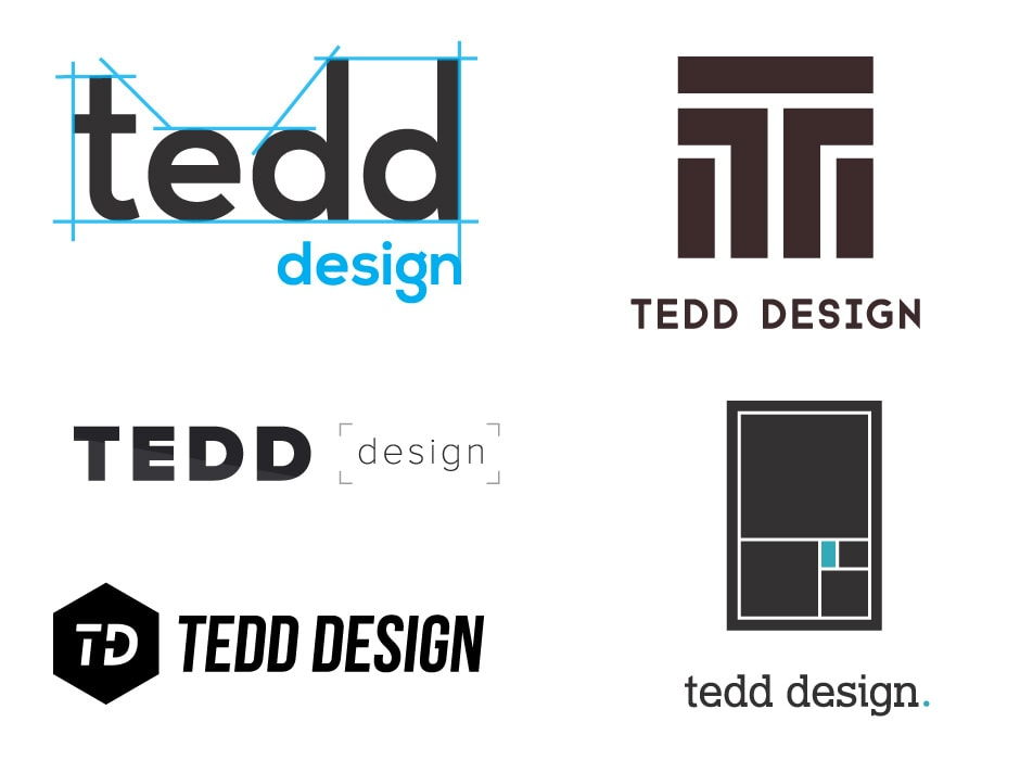 TEDD Design Logo Concept 1