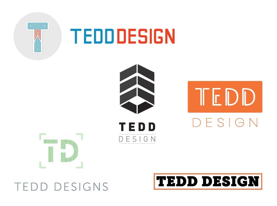 TEDD Design Logo Concept 2