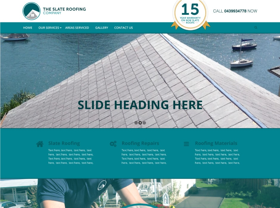 The Slate Roofing Company Website