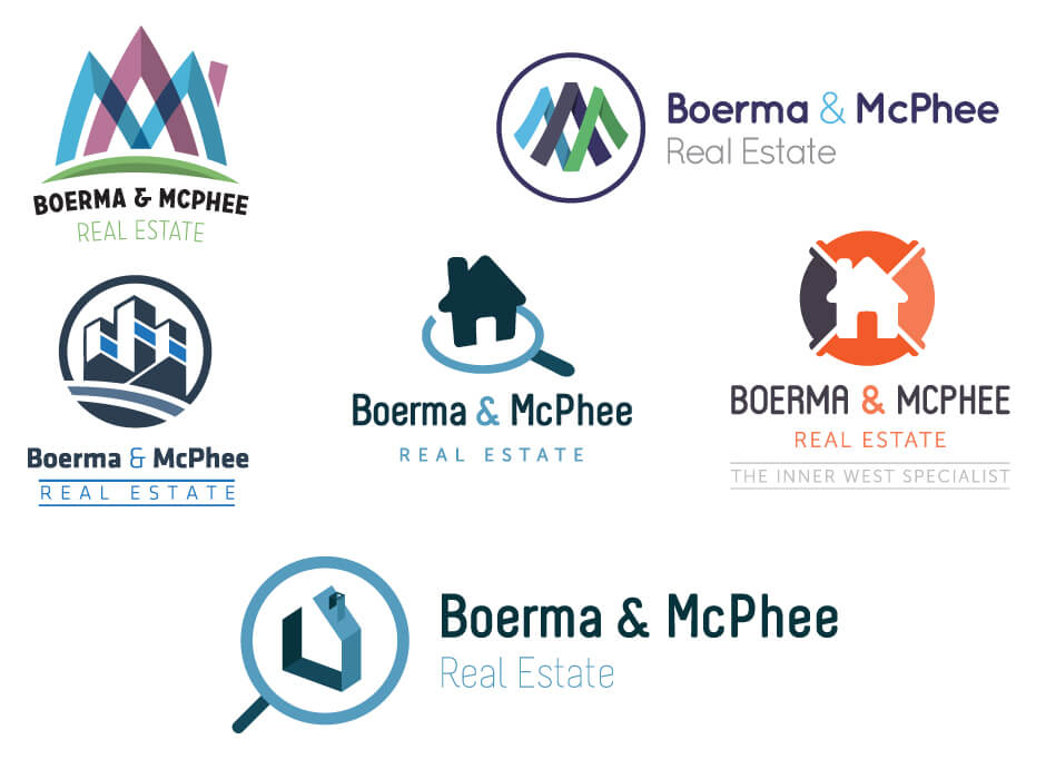 Boerma & McPhee Logo Design