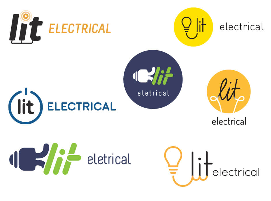 Northern Beaches Websites | Lit Electrical Logo Design