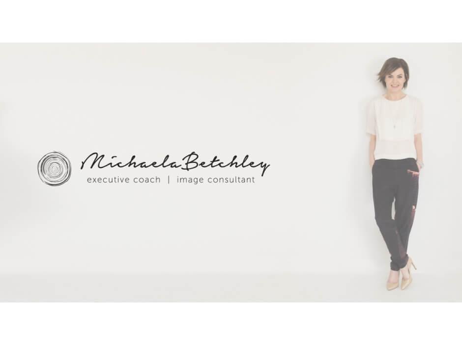 Michaela Bethcley PowerPoint Template Design
