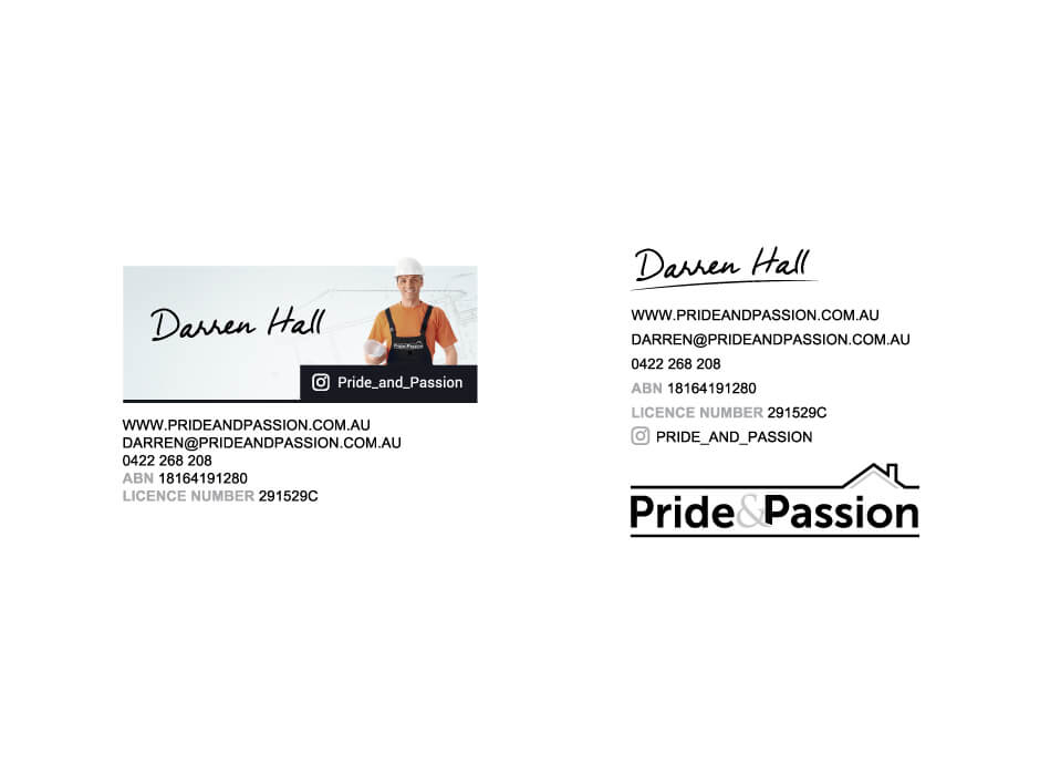 Pride & Passion Email Signature Design