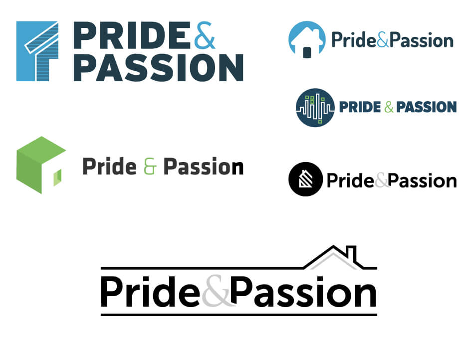 Pride & Passion Logo Design