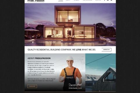 Pride & Passion Website Design