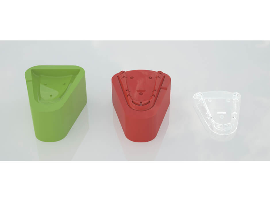 Pedometer Case Moulding Design