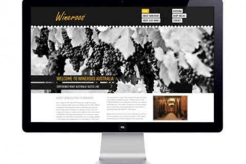 Wineroos Website Design