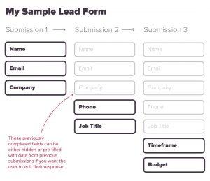 progressive profiling form example