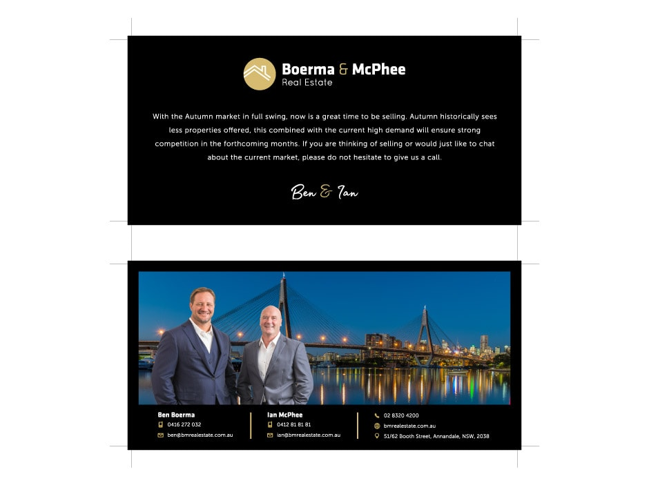 Boerma and McPhee Real Estate Flyer