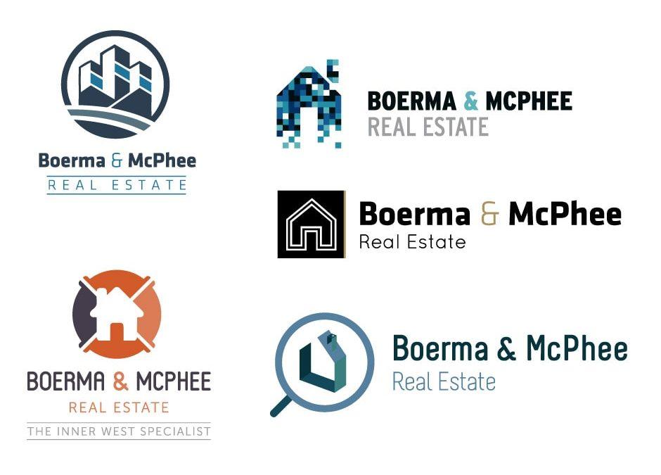Boerma and McPhee Real Estate Logo