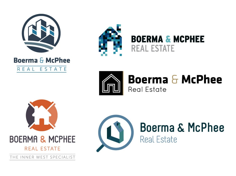 Boerma and McPhee Real Estate Logo