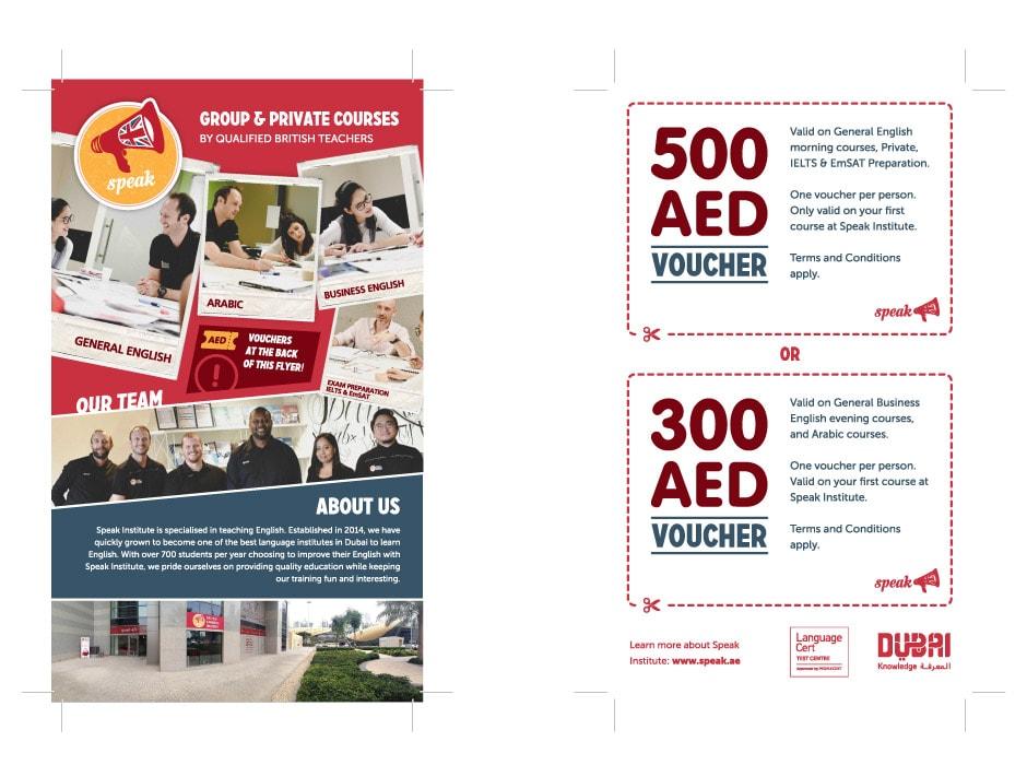Speak Brochure