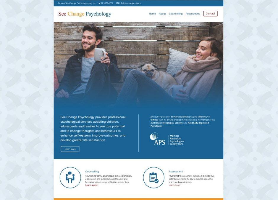 See Change Psychology Website