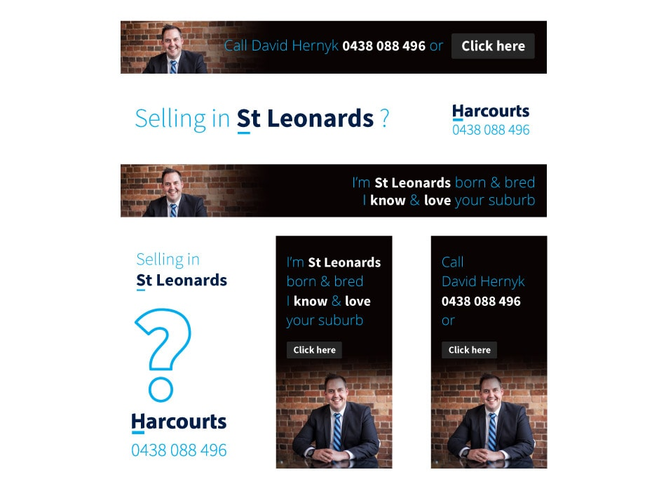Harcourts Ad Design