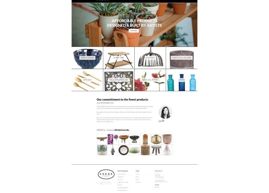 Ardor Website