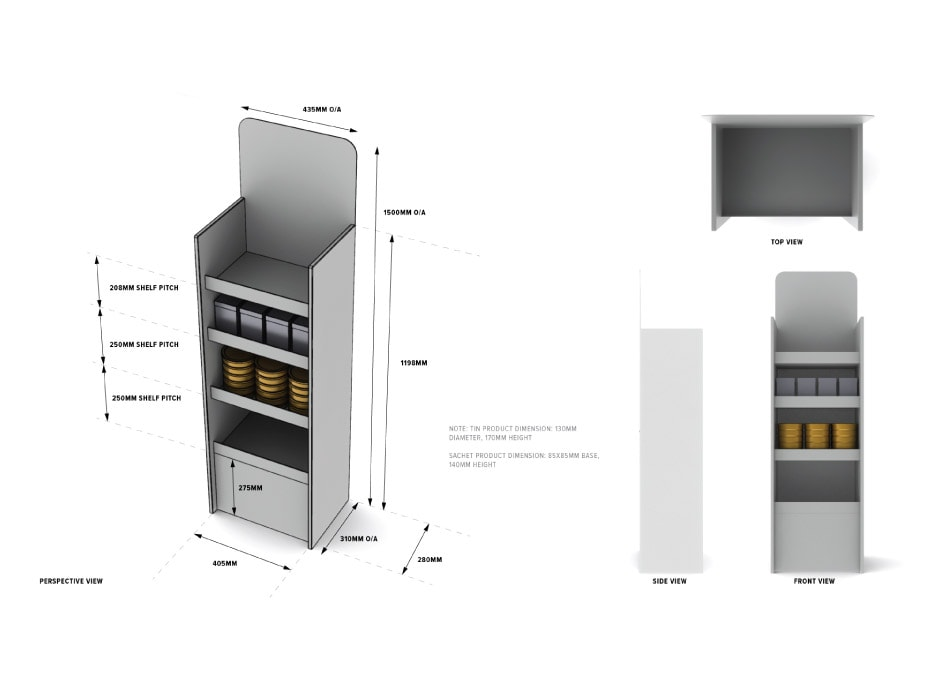 POS Display Design