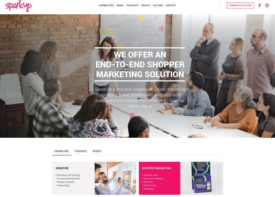 SparkUp Website