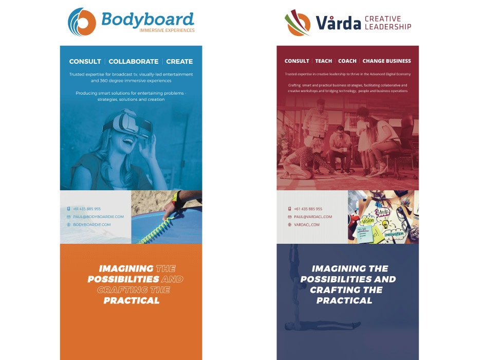 Bodyboard and Varda Websites