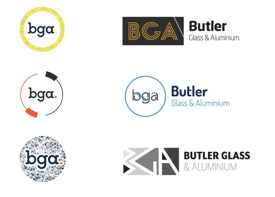 Butler Glass and Aluminium Logo