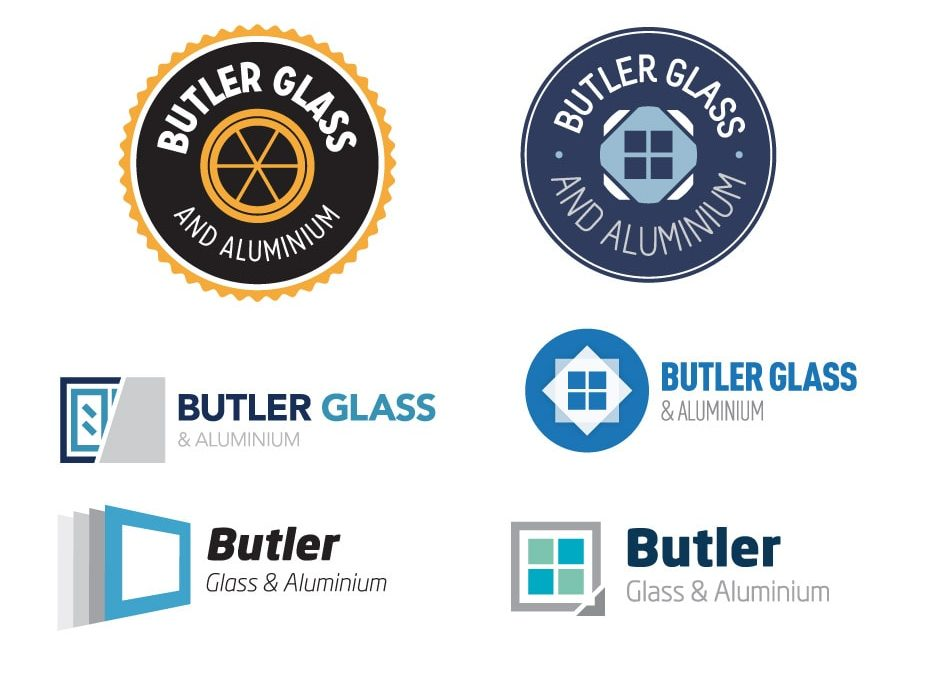 Butler Glass and Aluminium Logo