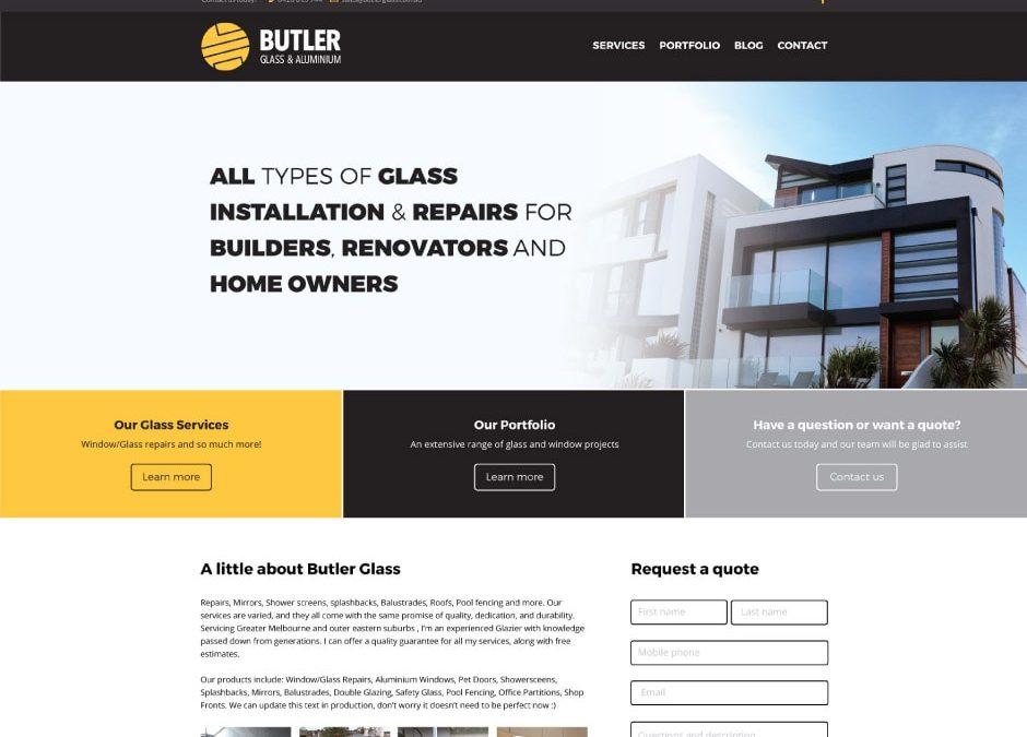 Butler Glass and Aluminium