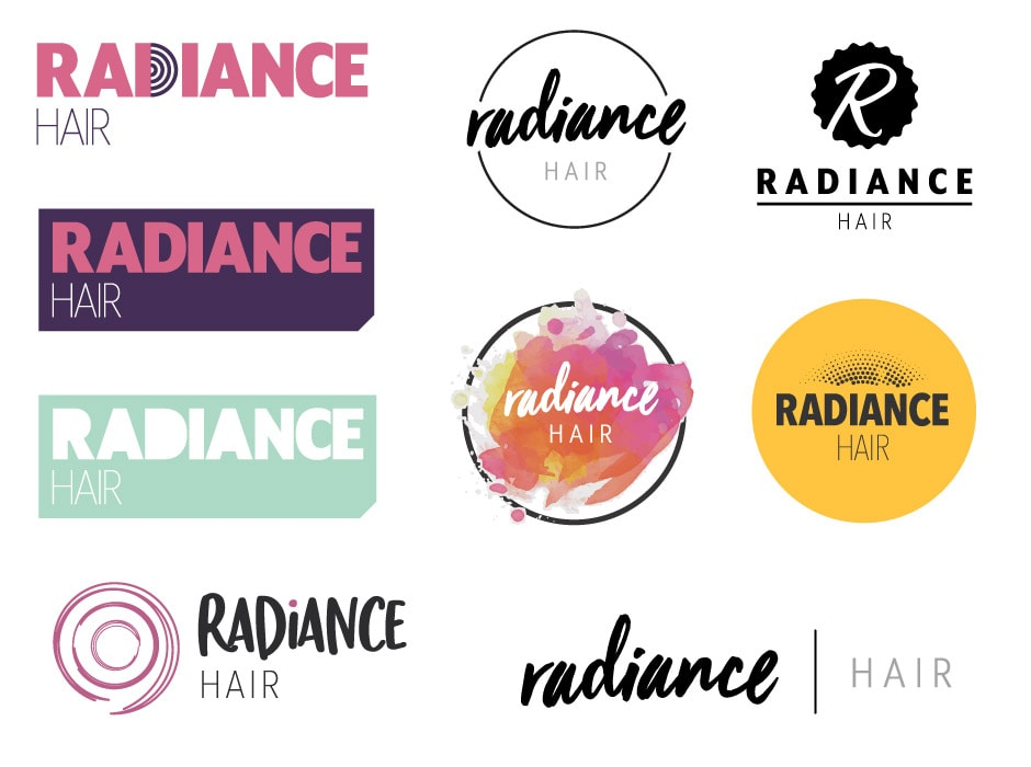 Radiance Hair Logo