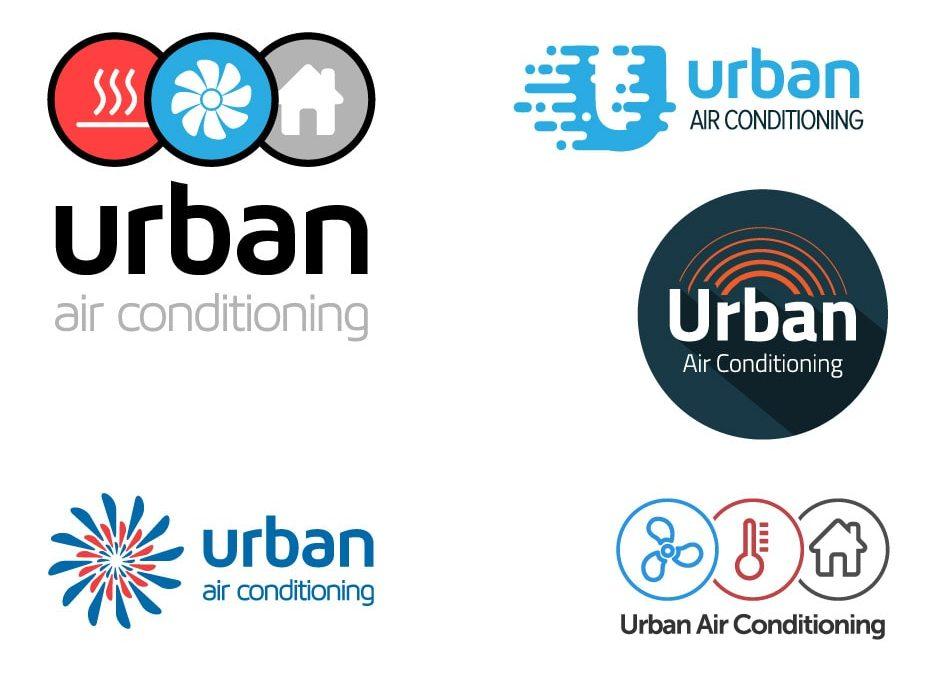 Urban Air Conditioning Logo