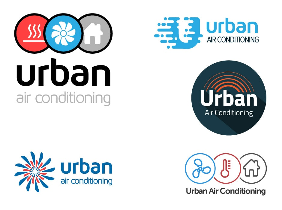 Urban Air Conditioning Logo