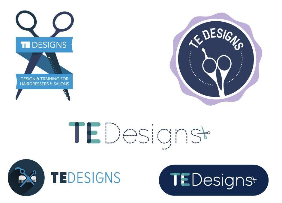 TE Designs Logo
