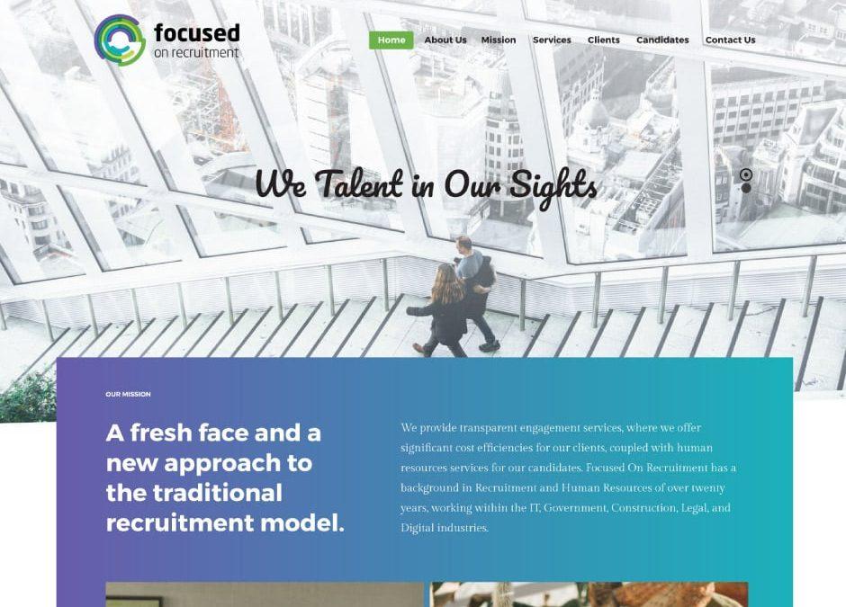 Focused On Recruitment Website