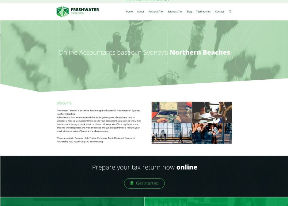 Freshwater Taxation Website